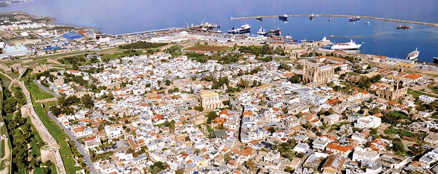 Life In North Cyprus Eastern Mediterranean University EMU Cyprus - Map of northern cyprus in english