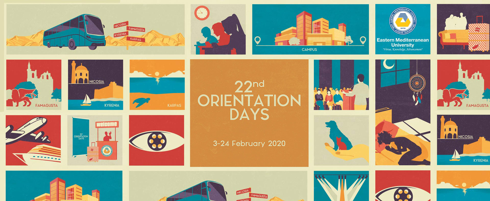 Orientation Days: 6 - 28 September 2018