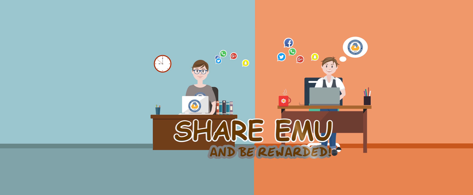 Share EMU, Reward and be Rewarded