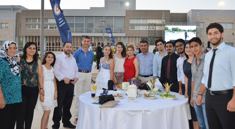 EMU Organised a Reception for the 2014-2015 Academic Year Spring Semester Graduates and Their Families