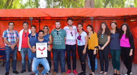 'Blood Donation Campaign by EMU Communication and Media Studies Faculty