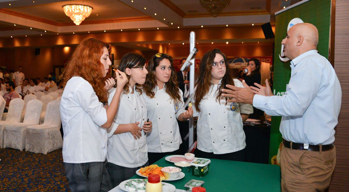 EMU Tourism Faculty, Gastronomy and Culinary Arts Department Participates in a Gastronomy Competition