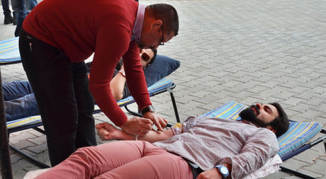 Blood Donation Campaign in EMU