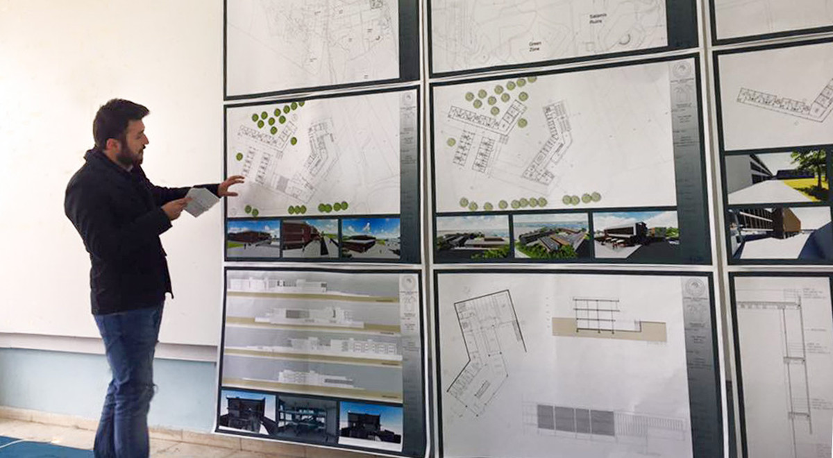 EMU Architecture Department Graduation Jury Hosted 38 Project Presentations  | News | Eastern Mediterranean University (EMU), Cyprus