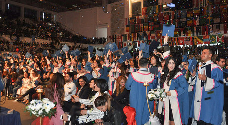 Eastern Mediterranean University 2015-2016 Fall Semester Graduation Ceremony