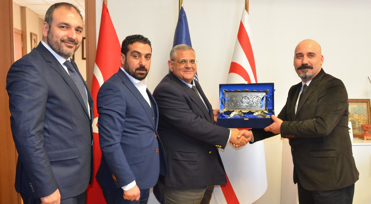 EMU Hosted The Representatives Of North Cyprus Alumni Foundation