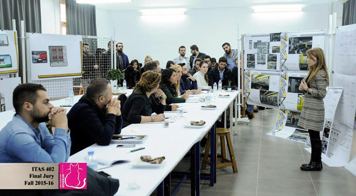 Architecture Design Workshop emu interior architecture department implemented a graduation