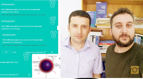EMU Physics Department Academic Staff Members Sakalli and Ovgun's Article Becomes the Most Read Publication in Cyprus