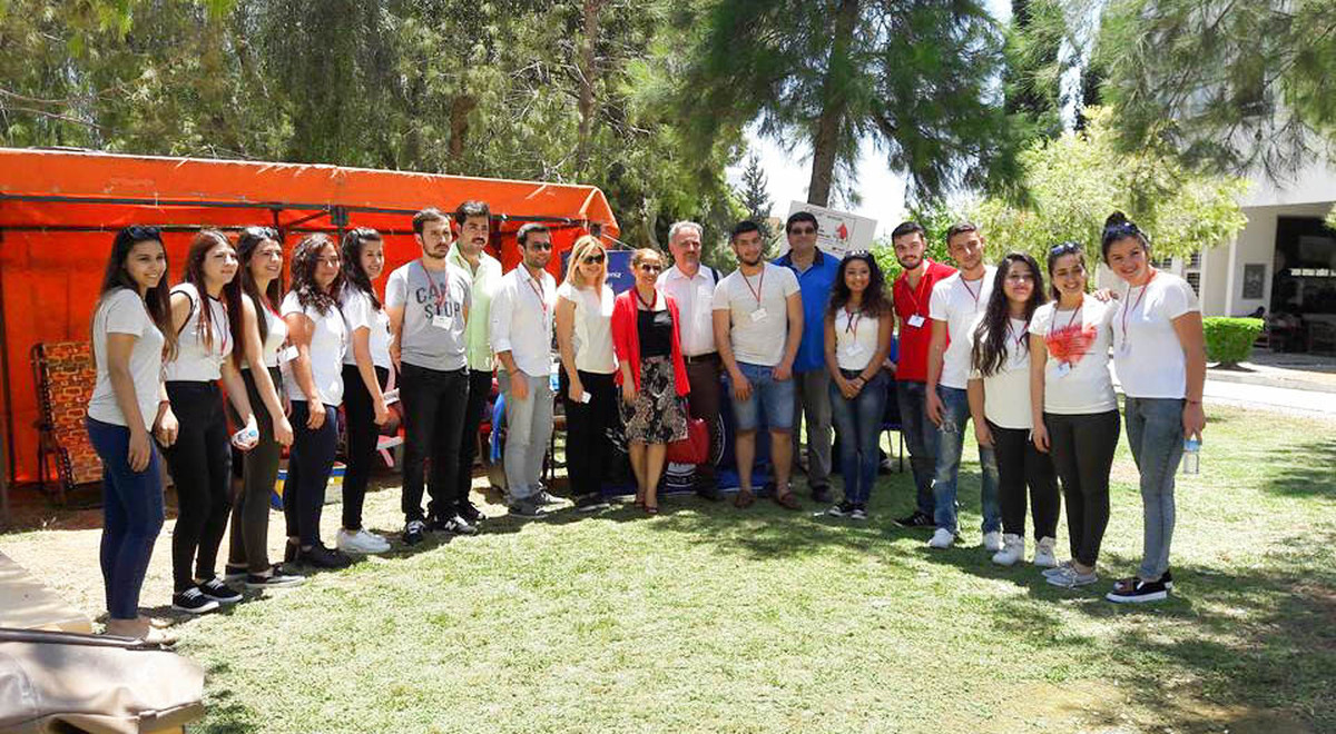 Students of EMU Donate 48 Units of Blood for Thalassemia Patients