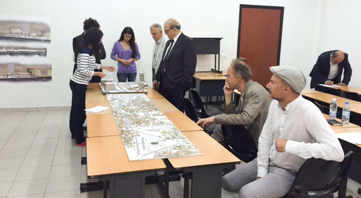Chair of EMU Architecture Department Prof. Dr. Dinçyürek Joins Final Jury of Lebanese University USEK