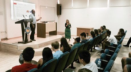 "EMU Department of Mechanical Engineering Welcomes Students from the ""American Youth Leadership"" Program"