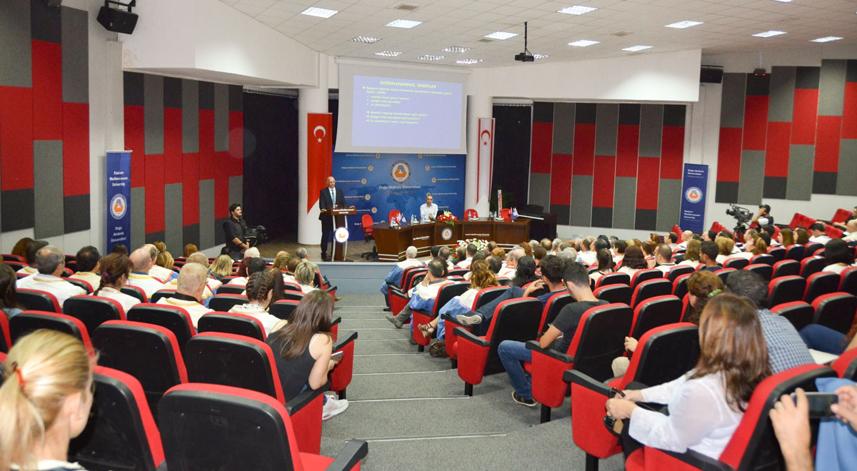 2016-17 Academic Year Opening Ceremony Takes Place at EMU