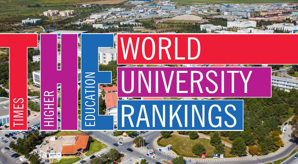 Emu Once Again Appears On The Times Higher Education List News Eastern Mediterranean University Emu Cyprus