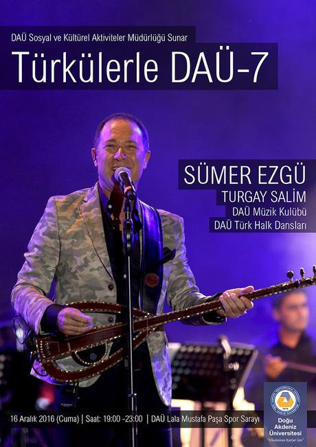 (Cancelled) EMU with Folk Songs 7 - Sümer Ezgü, Turgay Salim
