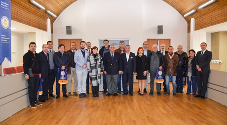 A Group of Journalists from Turkey Visited EMU