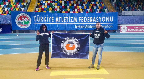 EMU Athlete Ese Brume Leaves Behind Turkish Record Holder