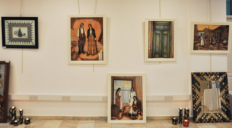 Türkan Navruz's Exhibition Begins at EMU
