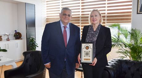 Cyprus Special Representative of United Nations Secretary-General Visits EMU
