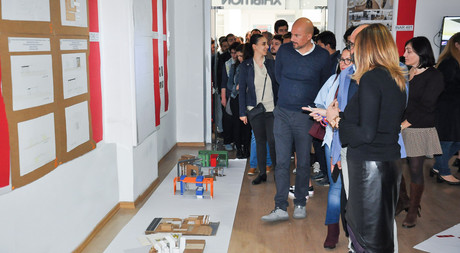 EMU Department of Interior Architecture Students Display Projects at Exhibition