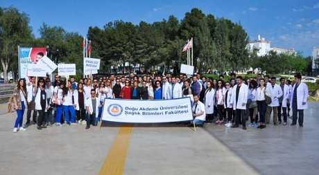 EMU Physiotherapy and Rehabilitation Department Students Walk for Good Health
