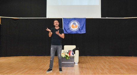 Hakan Yılmaz Gives Talk at EMU
