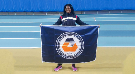 EMU Athlete Ese Brume to Compete in the USA