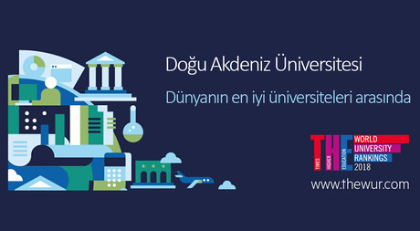DAÜ, Times Higher Education Dünya Listesinde