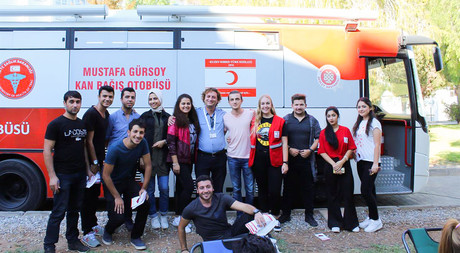 Record Breaking Blood Donation from EMU to Nicosia State Hospital
