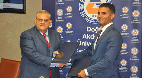 Collaboration Protocol Signed Between EMU and Alsancak Municipality