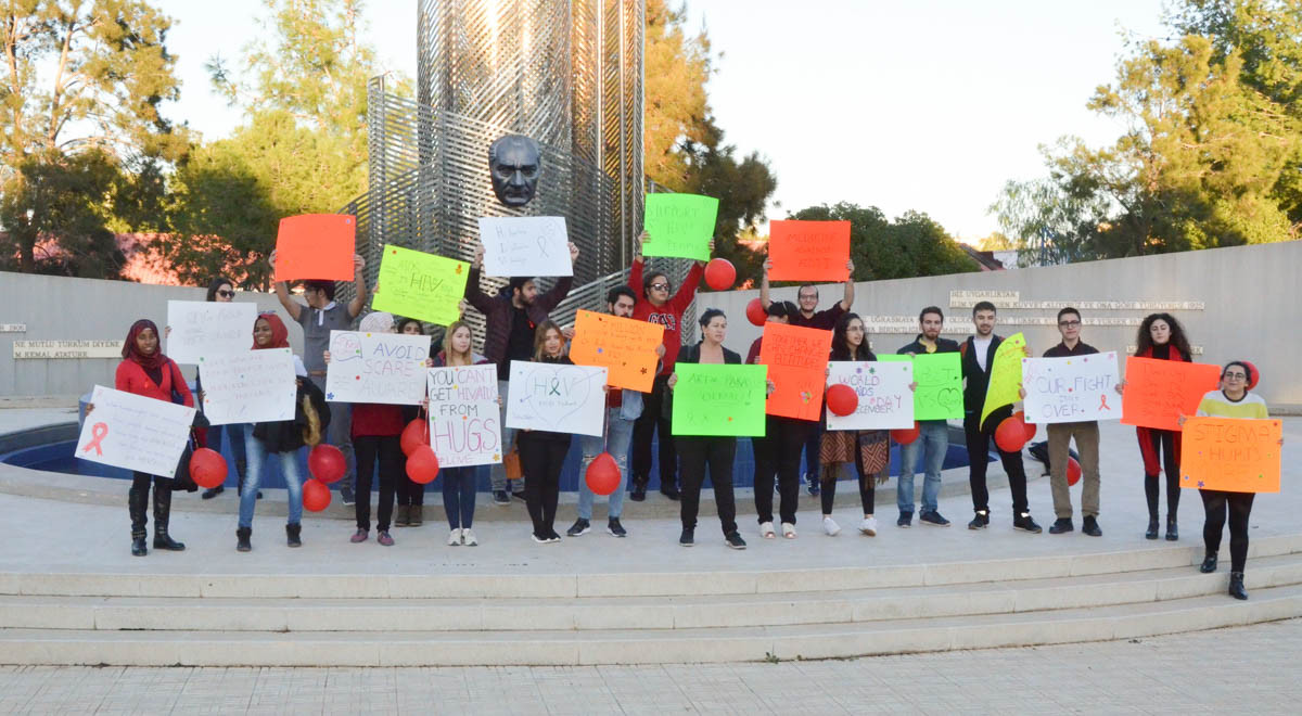 EMU Students Walk to Raise Awareness for World AIDS Day