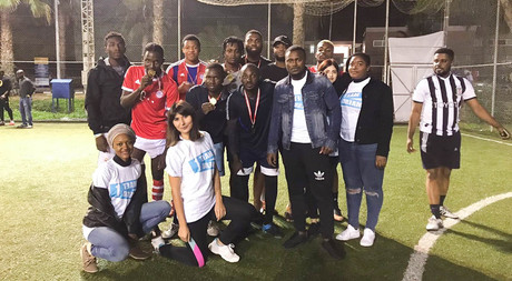 EMU Students Organize Charity Football Tournament