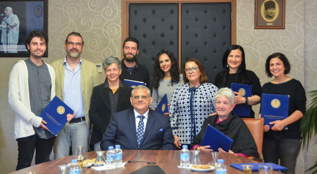 EMU Signs a Collaboration Protocol with Cypriot Artists