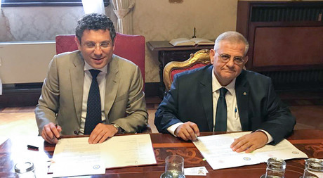 New Collaboration Protocol Signed by EMU and University of Bologna