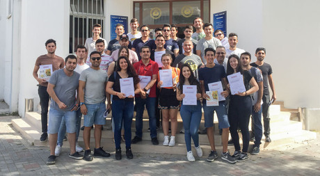EMU Faculty of Tourism, Department of Gastronomy and Culinary Arts Students Obtain Rational Certificates