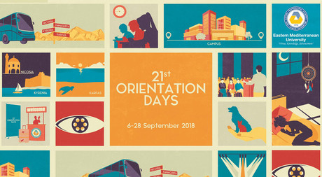 EMU's 21st Orientation Days Begin