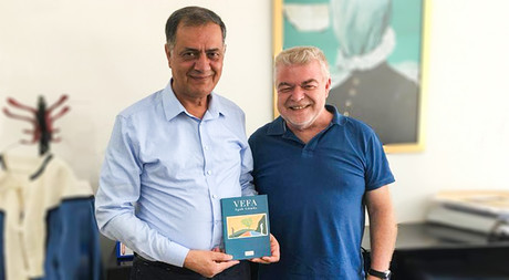 Author Canpolat Visits EMU
