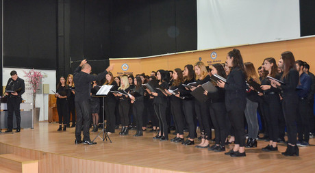 Oratorio for November 24th Teacher's Day Held at EMU