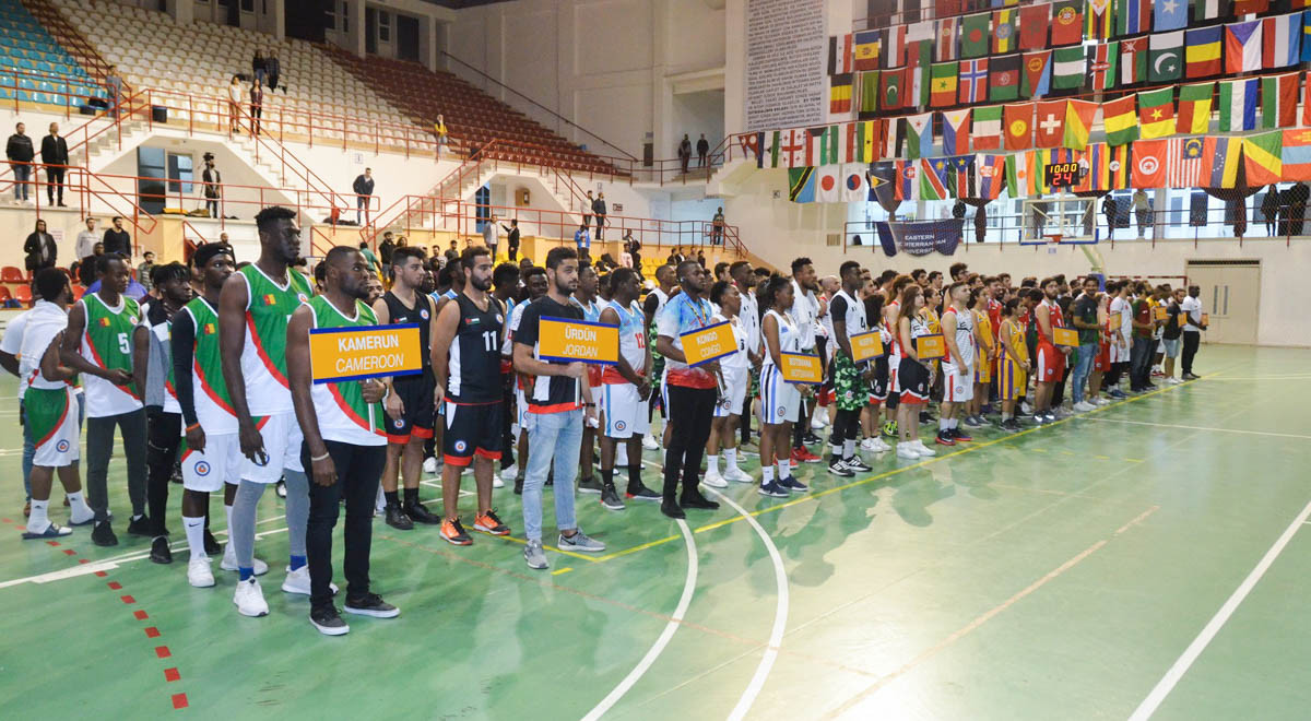 EMU Cup of Nations Basketball Tournament 2018 Commences