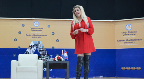 EMU Hosted Famous Astrologist Nuray Sayarı