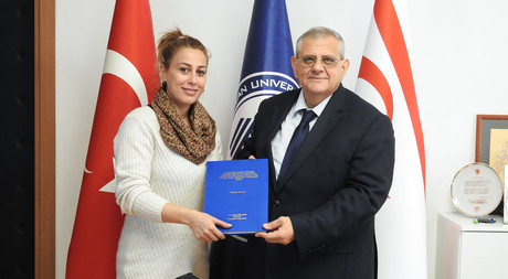 International EMU Student Writes Thesis in Turkish