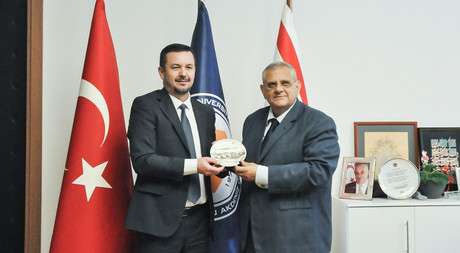 Macedonia Ministry of Education Undersecretary Visited EMU