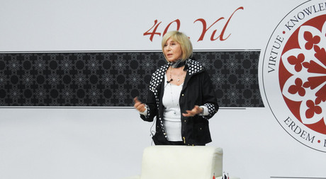 Famous Author Ayşe Kulin Delivers a Talk in EMU