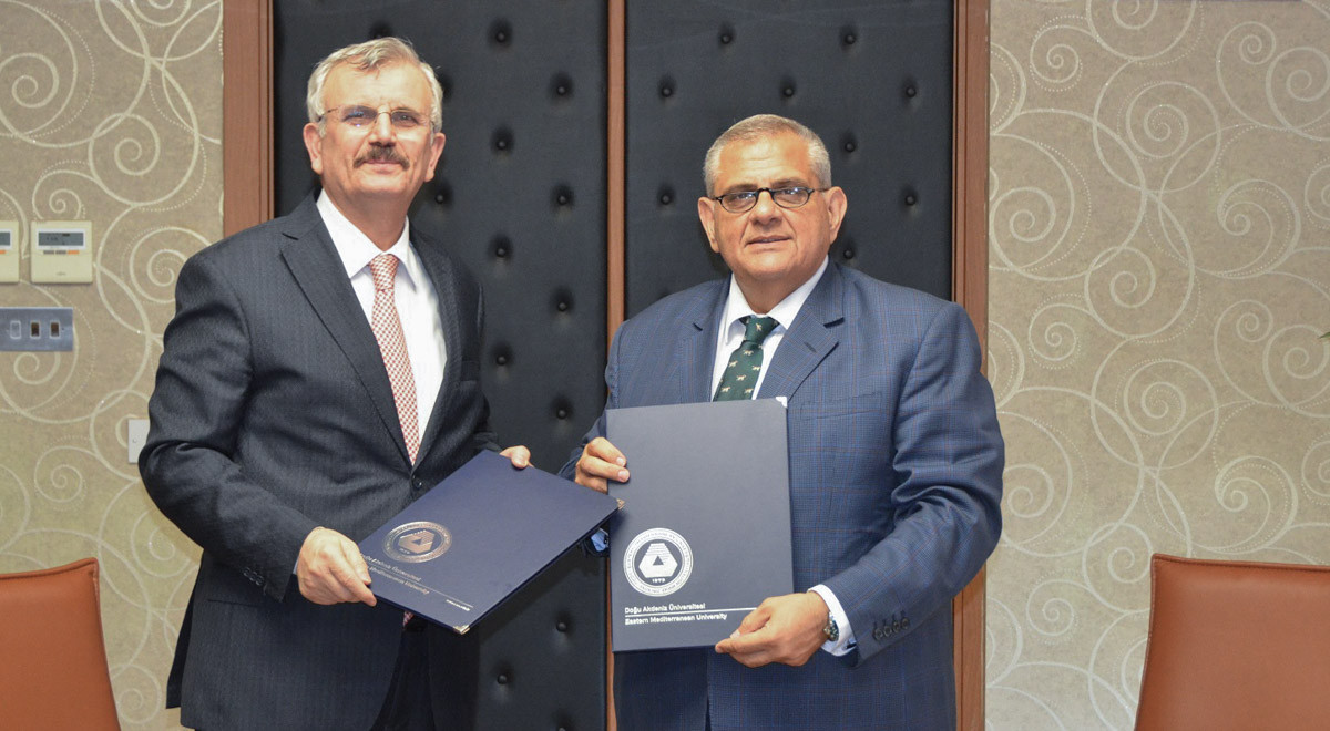 EMU Signs a Collaboration Protocol with Health Sciences University
