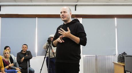 Emre Yücelen Gives a Workshop in EMU