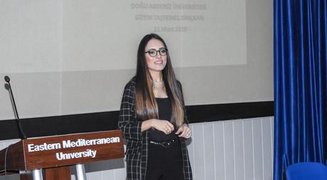 EMU Graduate Gizem Taştemel Dinçkan Talked About Her Career in EMU