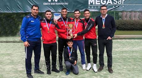 EMU Tennis Team Enters Super League as Champions