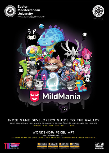 Mild Mania - Indie Game Developer's Guide to the Galaxy