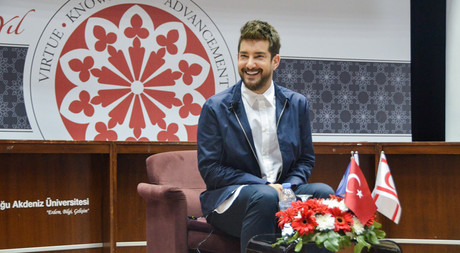 Famous Actor Enis Arıkan Delivered a Talk at EMU