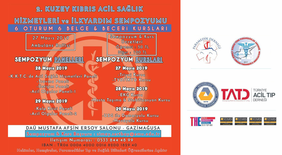 2nd TRNC Ambulance Rally and Emergency Services and First Aid Symposium