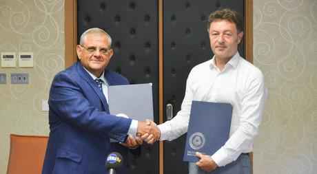 EMU Signs Collaboration Protocol with Rüstem Bookshop